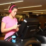 Gabriela Pugliesi na Body Tech do Shopping Iguatemi